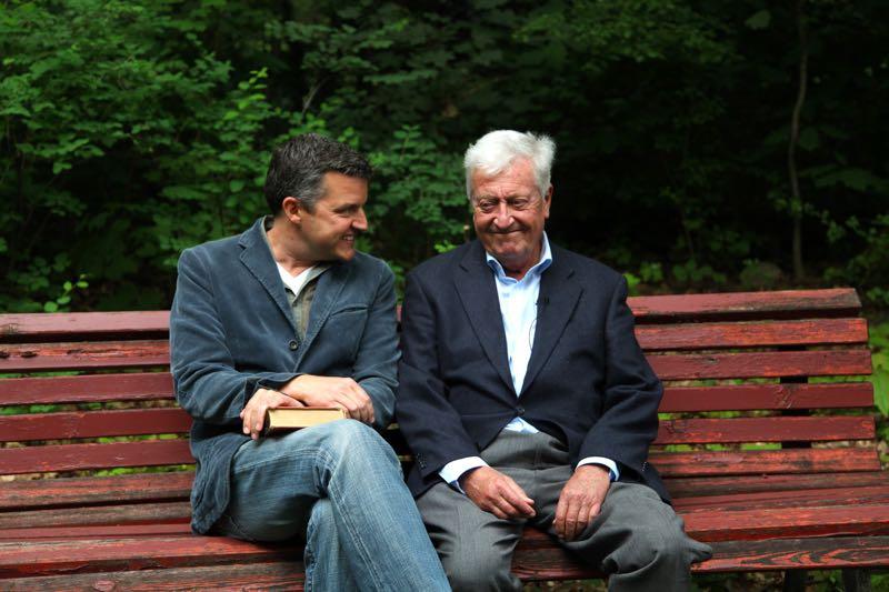Robert with Max Sering's grandson Wolfgang von Tirpitz